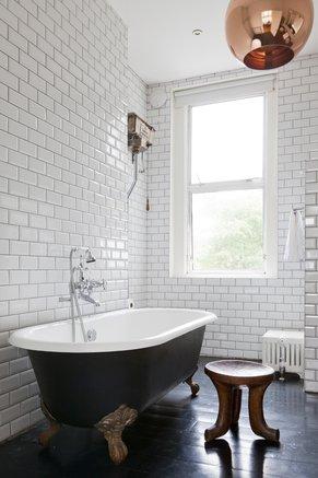 Le piastrelle diamantate ghostarchitects for Piastrelle bagno bianche e nere
